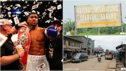 AMAZING! See the stadium and street that will be named after Anthony Joshua (video)