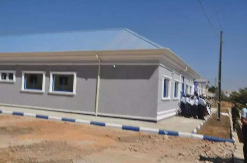 Nigerian Air Force commissions new hostel in Jos, immortalise victims of insurgency (photos)