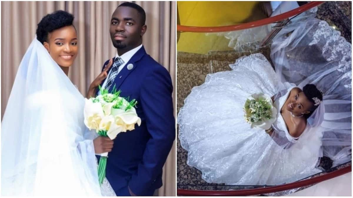 Beautiful photos from child star Favour Iwueze of Destined Kids white wedding