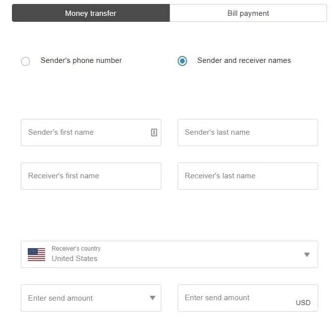 2nd Variant – How to track Western Union with a name!