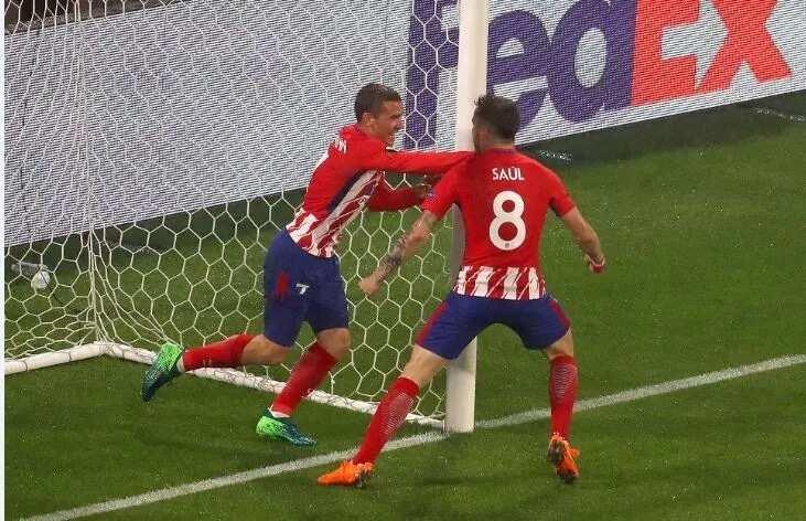 Atletico Madrid defeat Marseille to win the Europa League title