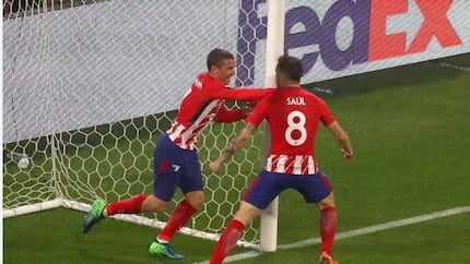 Antoine Griezmann scores twice as Atletico Madrid condemn Marseille to win the Europa League title