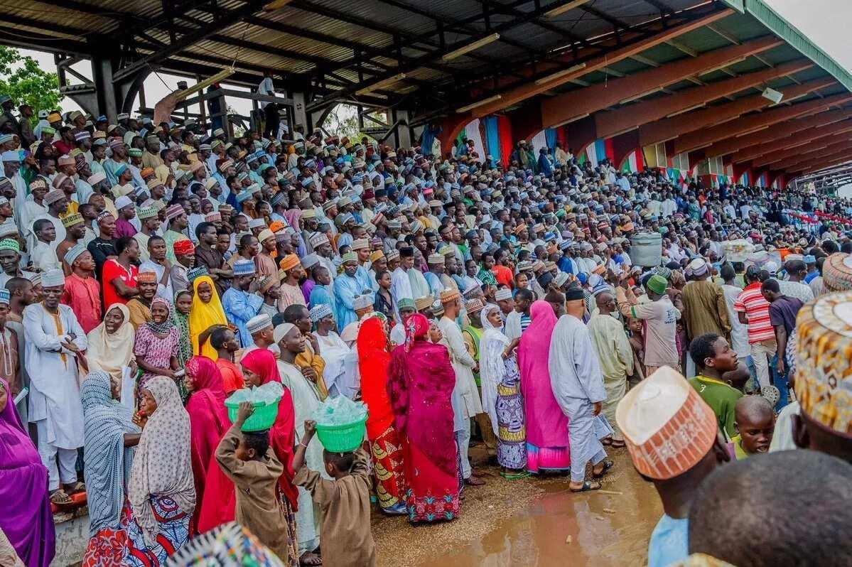 Shugaba Buhari ya halarci taron gangamin APC a Bauchi, hotuna