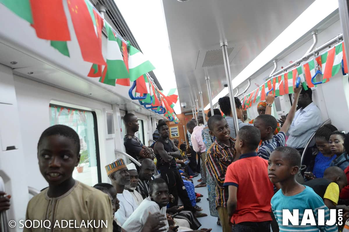 Excitement as Abuja Metro Rail Line becomes fully operational in Nigeria's capital