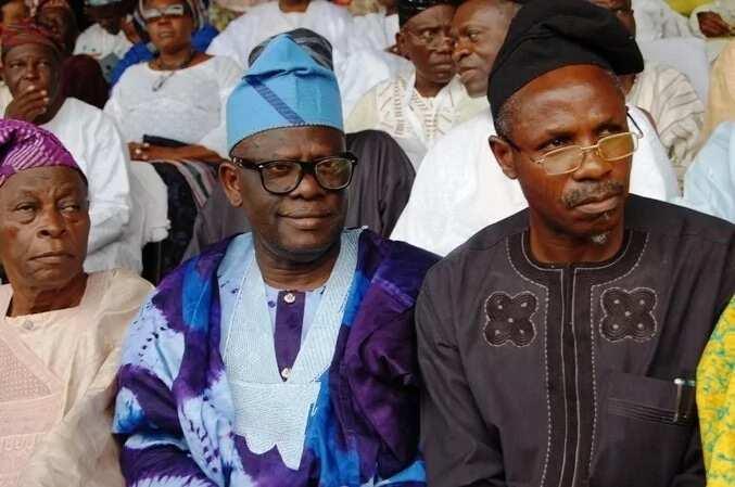 Yanzu-yanzu: Obasanjo, Olu Falae, Doyin Okupe suna ganawar sirri
