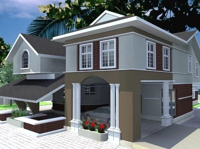 Swell Duplex Designs In Nigeria Photos Legit Ng Home Interior And Landscaping Elinuenasavecom