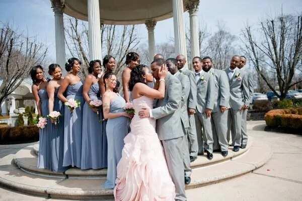 Violet-gray for wedding 2017