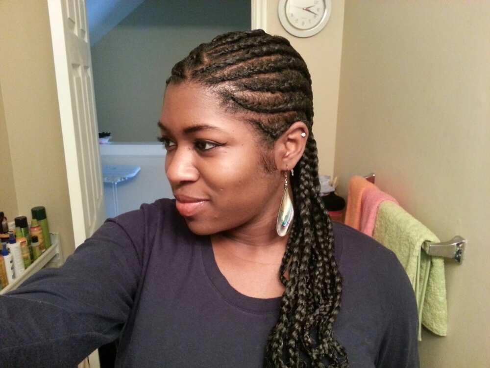 Ghana Weaving Styles For Natural Hair Legit Ng