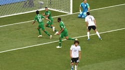 Salah's goal not enough for Egypt as Saudi Arabia secure first World Cup victory since 1994