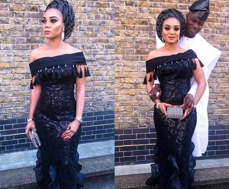 Latest Aso Ebi lace styles in Nigeria 2018