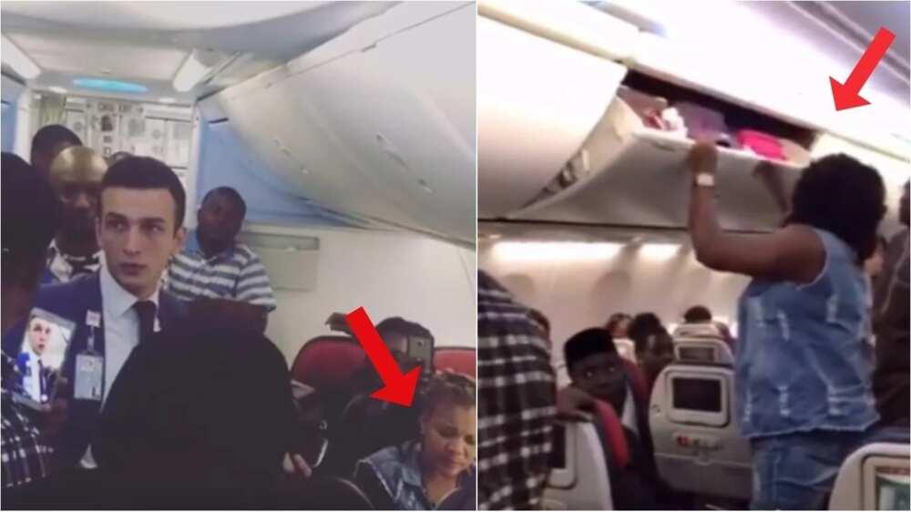 Nigerian Lady Kicked Off Turkish Flight For Assaulting Air Hostess Photos Video Legit Ng