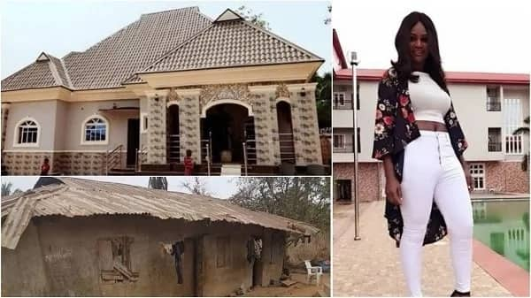 Actress Chizzy Alichi builds a mansion for her parents