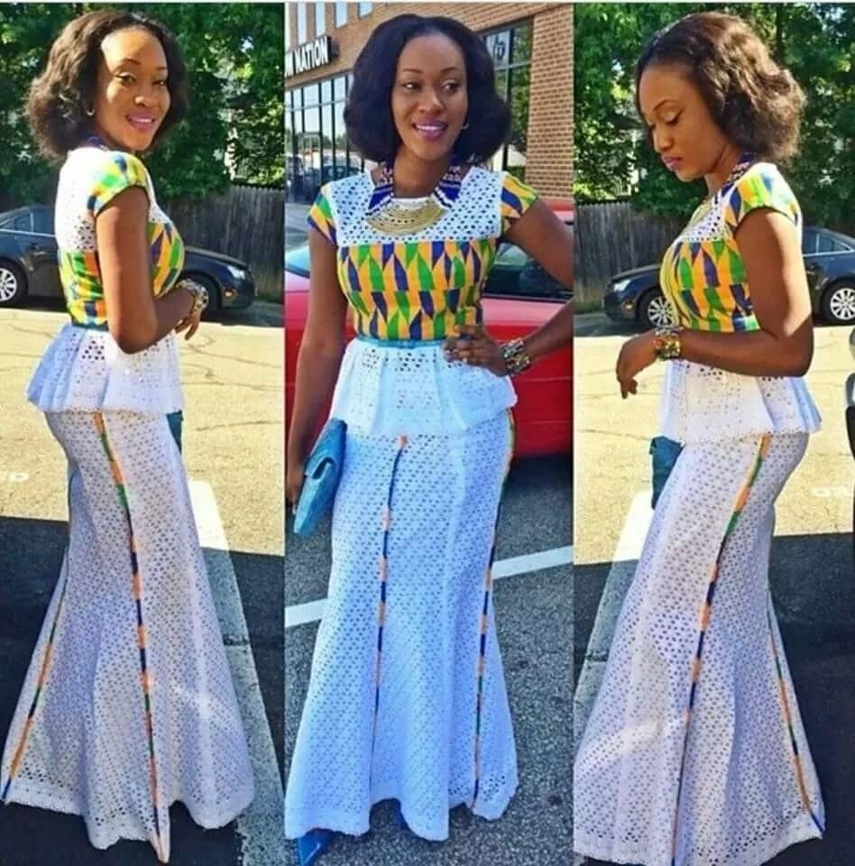 Ghanaian lace styles