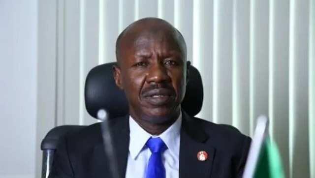 Shugaban Hukumar EFCC Ibrahim Magu