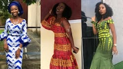 Delightful Ankara long gowns will help you look great every day