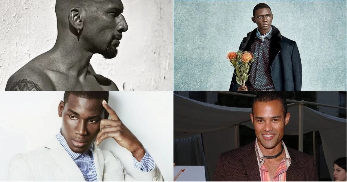 Famous Black Male Models Of All Time Legit Ng