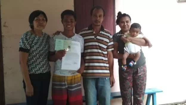 Indonesian boy who was rescued after 49 days at sea narrates incredible story (photos)
