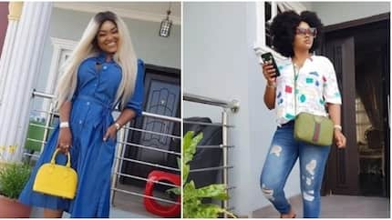 6 beautiful casual looks from actress Mercy Aigbe that proves she is a style goddess (photos)
