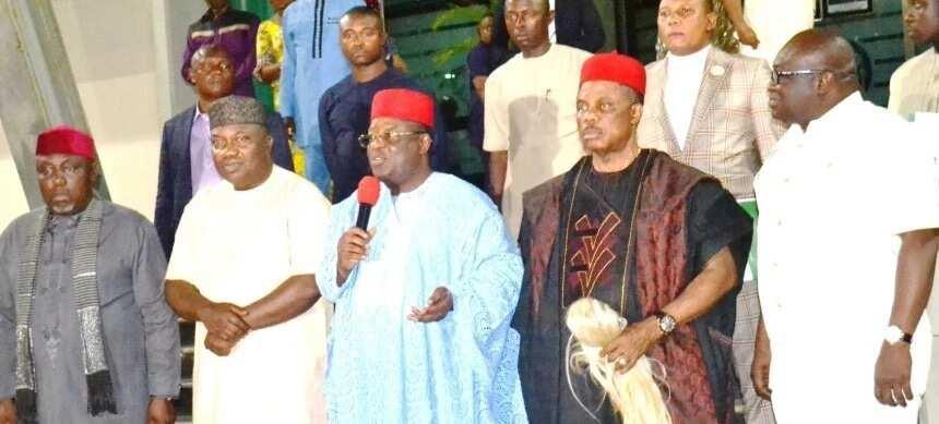 Gwamnan PDP ya sha yabo saboda biyayyar da yake yiwa Buhari