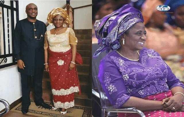 Pastor David Ibiyeomie's wife
