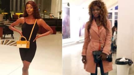 Wife of Obafemi Martins maintains good rapport with Khloe who boasts about her new car