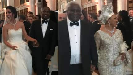 For what? When your fellow brothers and sisters are dying of famine – Nigerians blast Alakija's son's lavish wedding