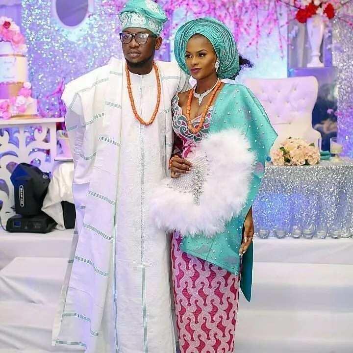 Nigerian traditional wedding colours 2017