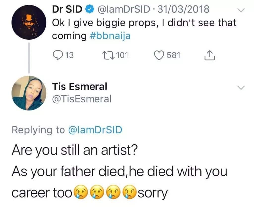 Young lady slams Dr Sid, says 'his career died with his father'