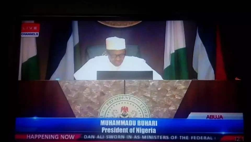 9 Best Quotes From PMB's Address To His New Ministers