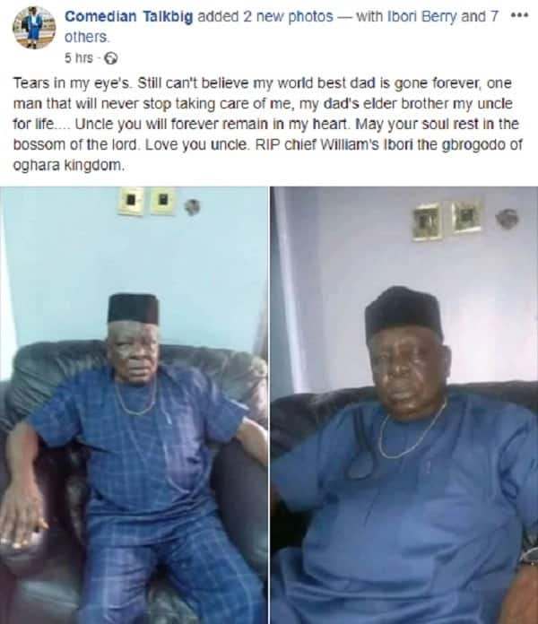 James Ibori's elder brother dies 4 months after he married a much younger bride