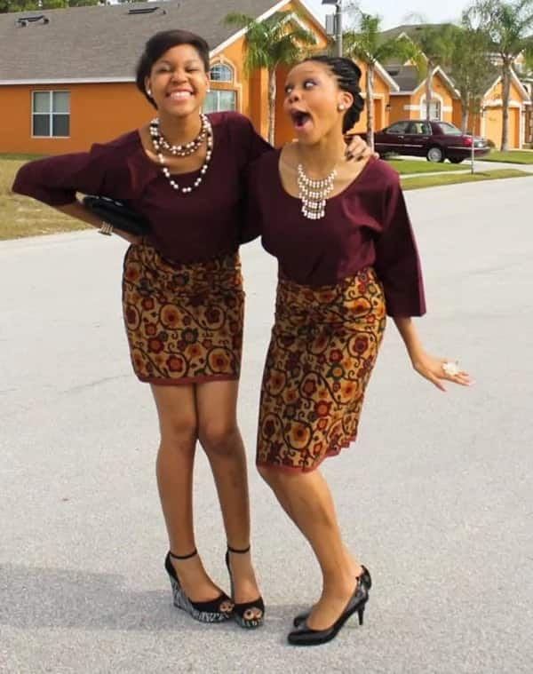 Ankara blouse styles for wrapper