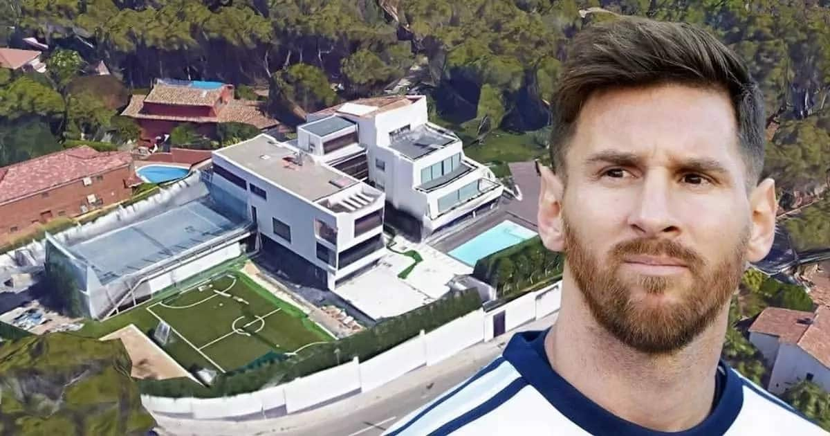 Lionel Messi house and cars