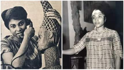 Retro: Meet the first Nigerian woman to open a private art gallery, she died at the age of 78 (photos)