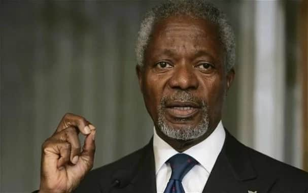 Shugaban Najeriya ya aikawa Mutanen Ghana da Nane Maria Annan ta'ziyyar Marigayi Kofi Annan