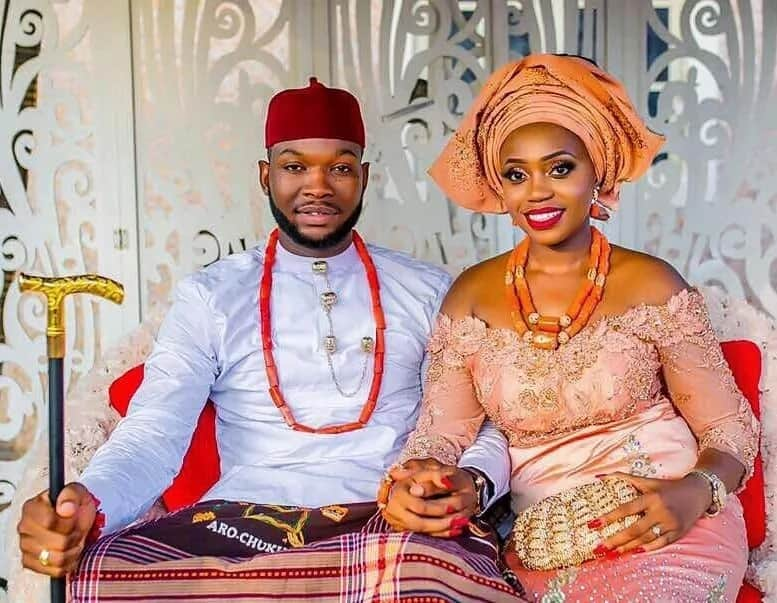 Groom type of Igbo dressing