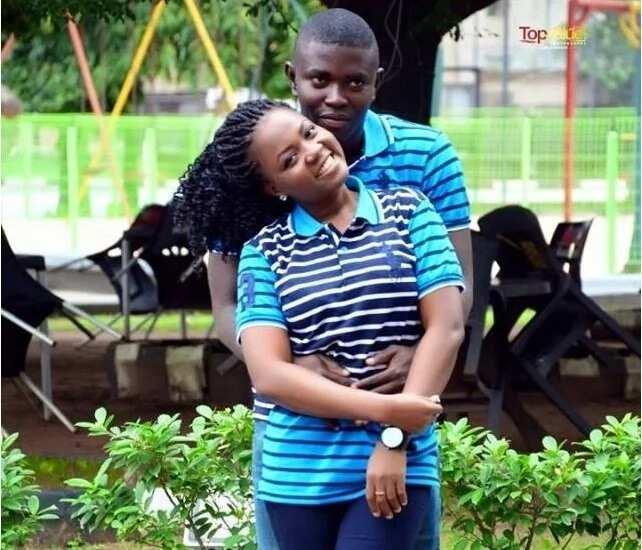 Ijeoma Nwosu and sweetheart Chukwuma Inya-Agha Source: Gistreel