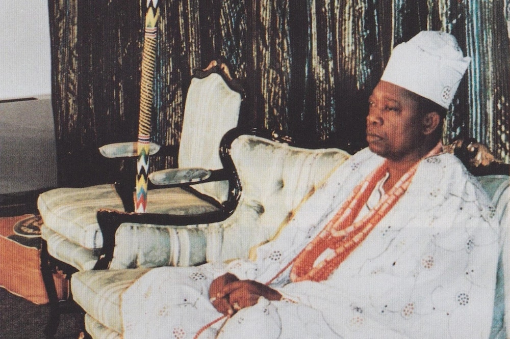 Chief Moshood Abiola, winner of the 1993 presidential election