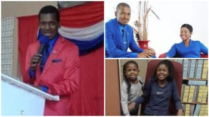 See photos of popular 36-year-old pastor who poisoned himself and his 2 daughters in South Africa