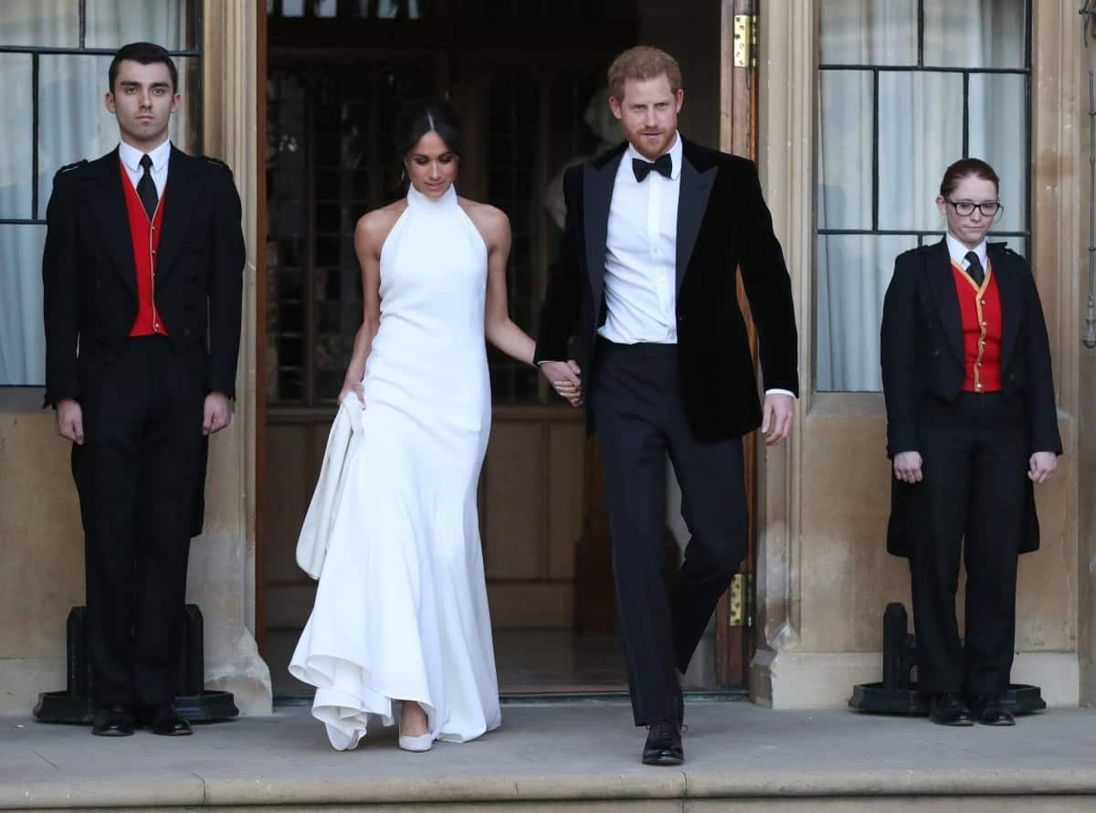 Meghan Markle and Prince Harry wedding (evening celebration)