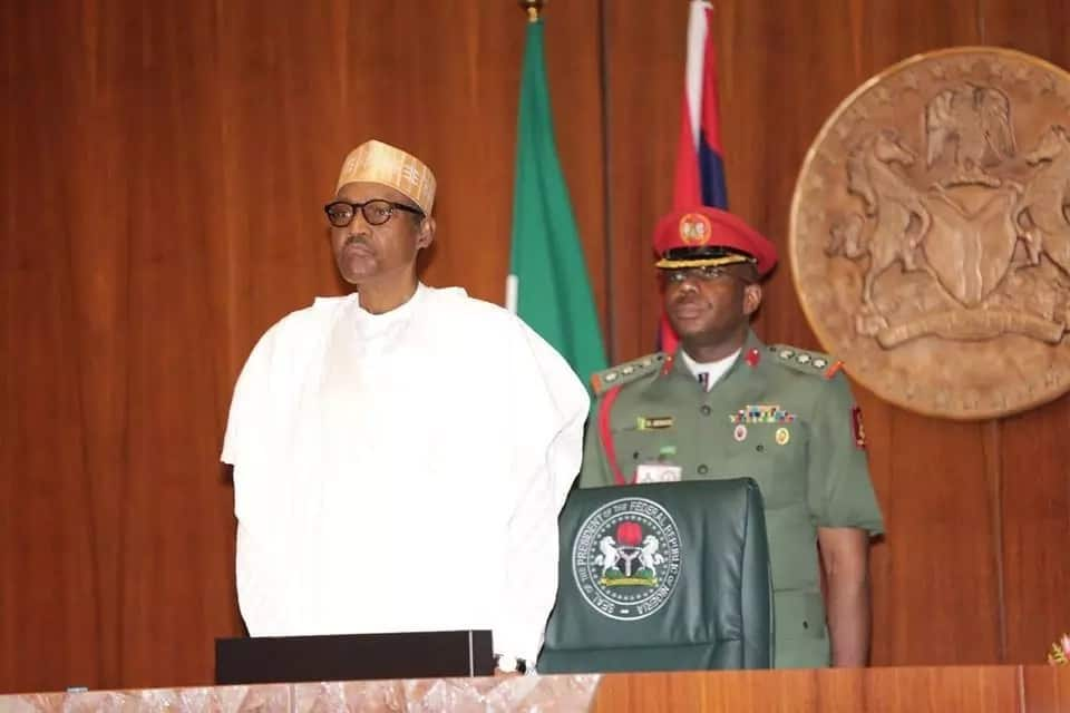 President Buhari presided over Federal Executive Council Meeting. Photo source: Femi Adesina