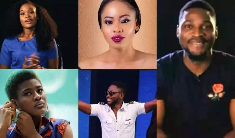 Five BBNaija finalists Miracle, Tobi, Cee-C, Alex, Nina reveal why they should win N45m