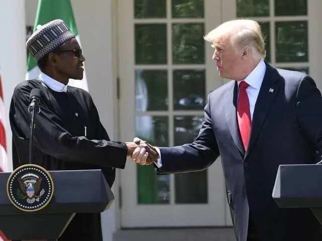 PDP ta mayar da martani akan furucin Trump game da Buhari