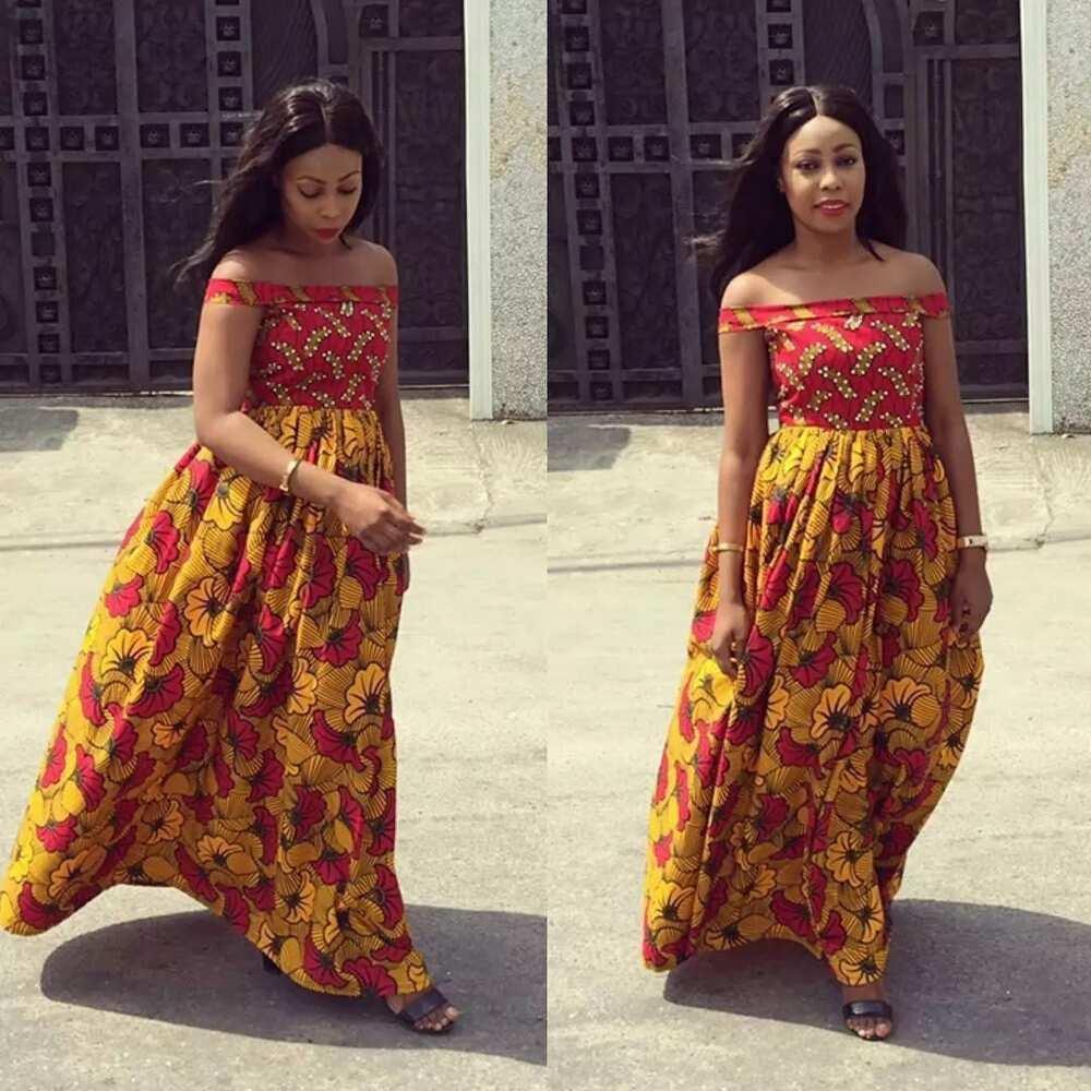 07690cfa05b65 Ankara maternity styles in Nigeria ▷ Legit.ng