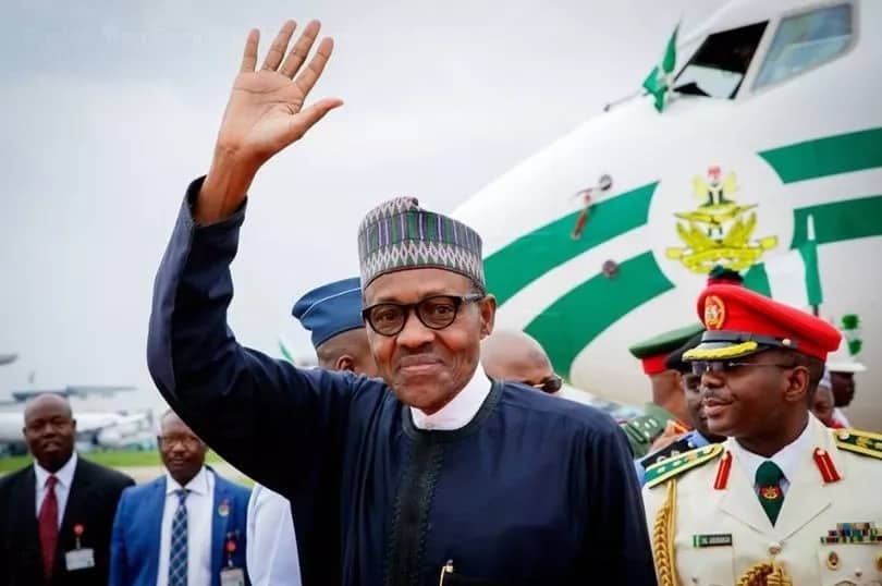 Breaking: President Buhari arrives Abuja a day after he was given a heroic welcome in Morocco