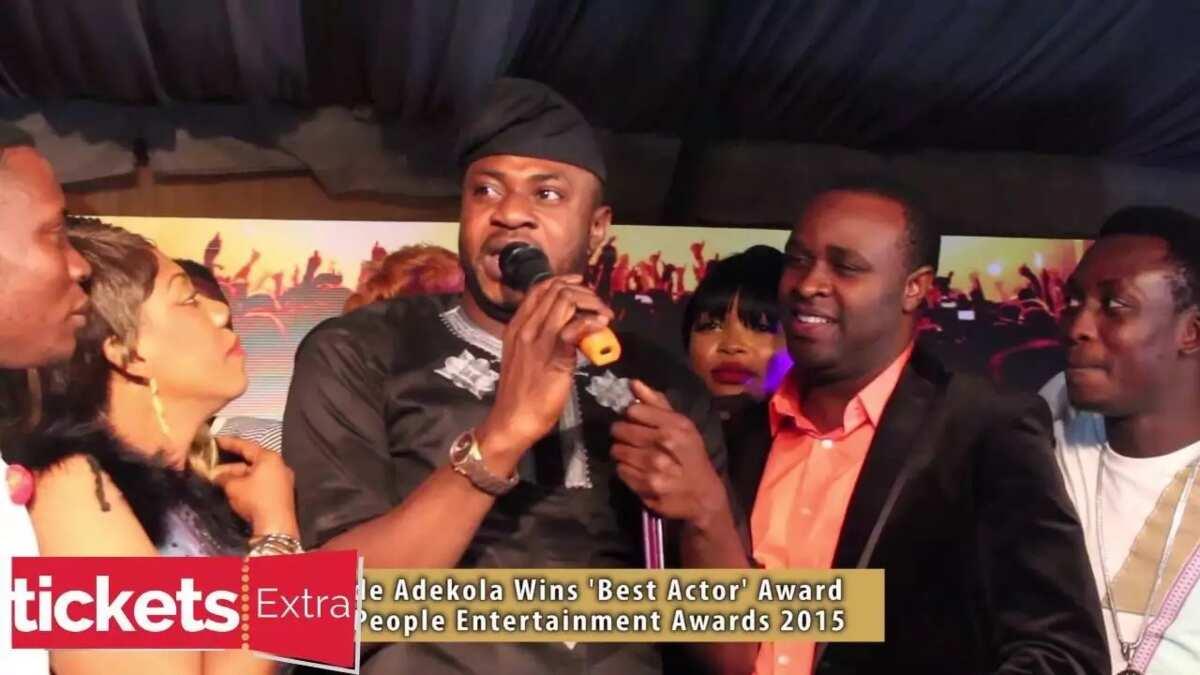 The awards of Odunlade Adekola