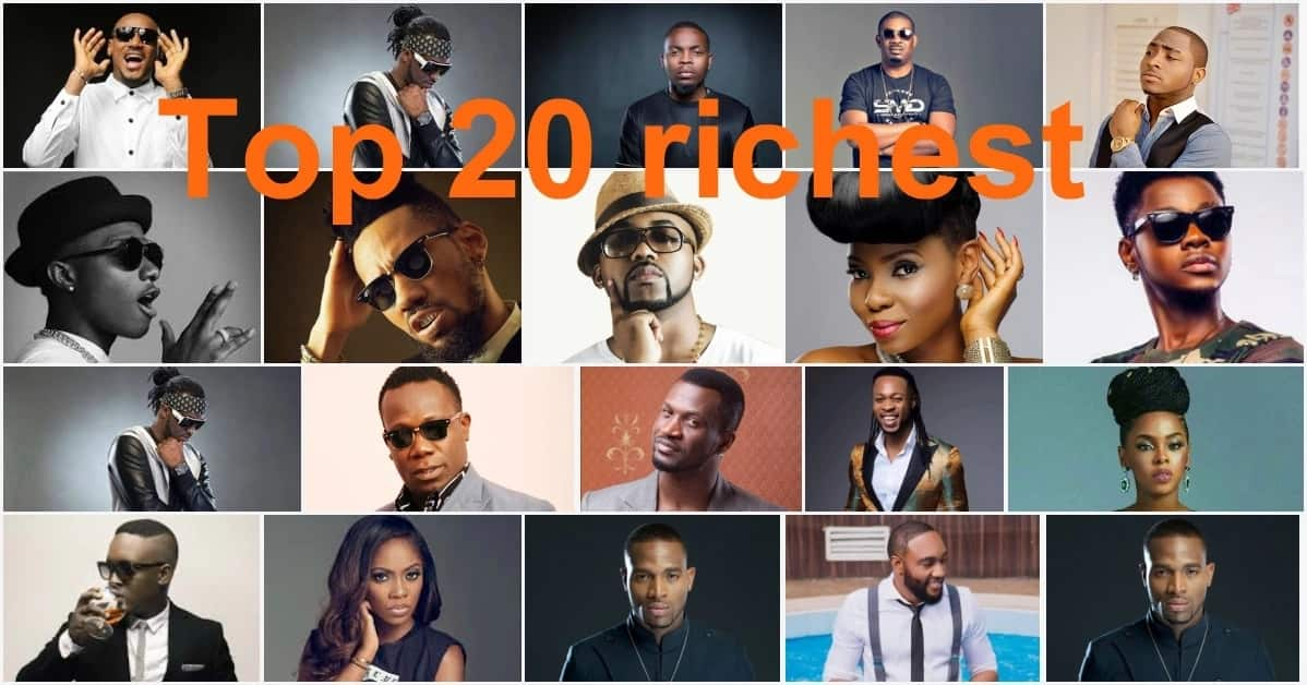 Top 20 Richest Musicians In Nigeria in 2019