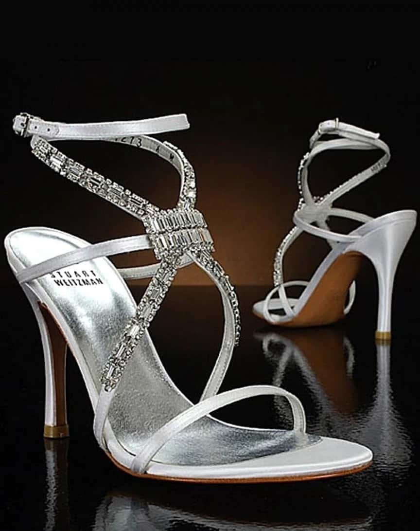 Stuart Weitzman Platinum Guild Stilettos - most expensive shoes in the world