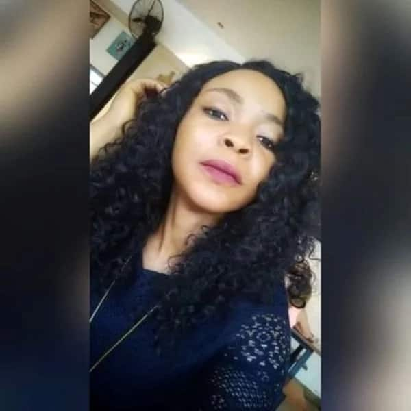 Lady takes an old friend for lunch years after she beat him up in secondary school (photos)