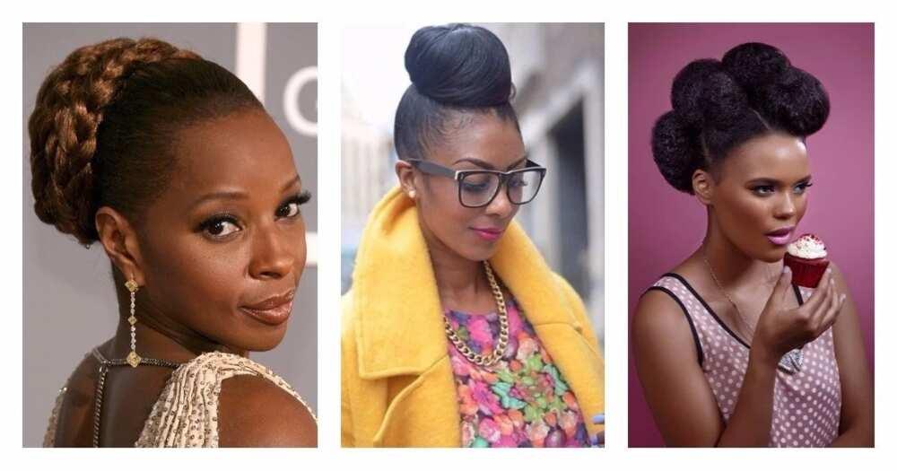 Best packing gel hairstyles in Nigeria