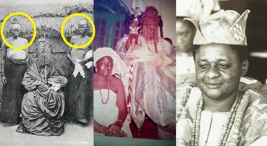 The women beside the Alaafin of Oyo. Picture Credit: Abiyamo.com